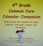 Common Core Activity, Array of the Day