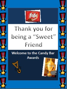Common Core Activity:  Candy Bar Awards Ceremony