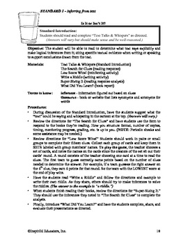 Common Core Activity Pack #1 - Anchor Reading 3-5 (inferring from text)