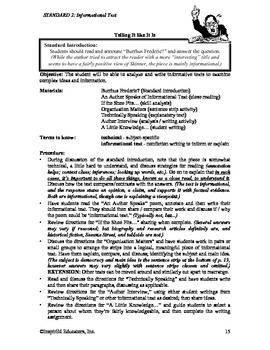 Common Core Activity Pack #2 Gr. 6-12- Anchor Writing (inf