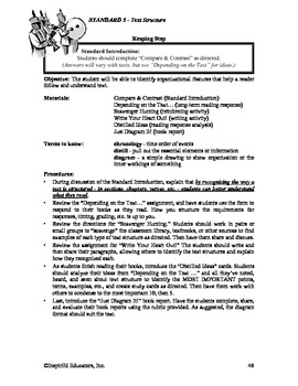 Common Core Activity Pack #5 Gr. 6-12- Anchor Reading (text features)