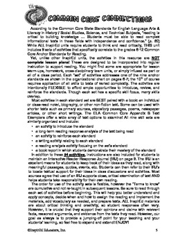 Common Core Activity Pack #7 Gr. 6-12 Anchor Reading (sour