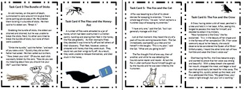 Common Core Activity:  Theme Task Cards:  Using Aesop's Fables