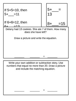 Common Core Addition Subtraction Review Gr 2