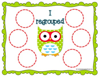 Common Core Addition with Regrouping is a Hoot 2.NBT.7