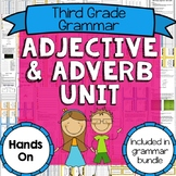 3rd Grade Adjective and Adverb Unit