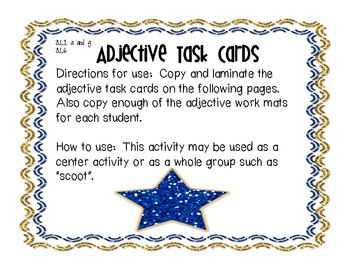 Common Core Adjectives and Adverbs Mega Pack
