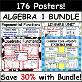 Common Core Algebra 1 POSTERS - BUNDLE PRICE!