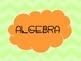 Common Core Algebra 1 Standards