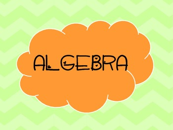 Common Core Algebra 1 Standards