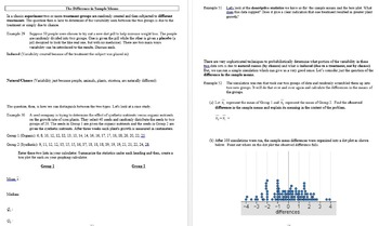 Common Core Algebra 2: Statistics Unit Packet Bundle