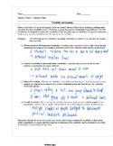 Common Core Algebra 2: Statistics Unit Packet (Answer Key)