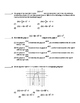 Common Core Algebra 2 Unit Assessment Transformations on