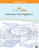 Common Core Algebra I Unit Plans
