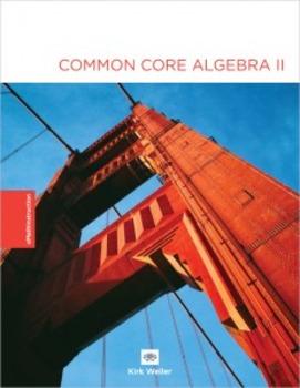 Common Core Algebra II - Unit #3 Answer Key