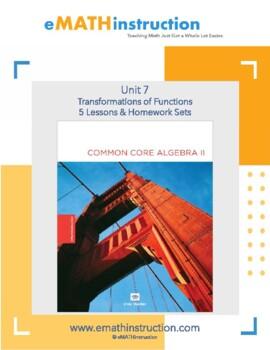 Common Core Algebra II - Unit #7 Transformations of Functions