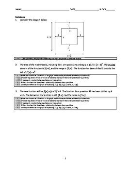 Common Core Algebra Task - Computer Design