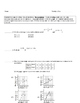 15 Common Core Algebra Weekly Review Assignments