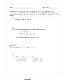 15 Common Core Algebra 1 Weekly Reviews Answer Keys