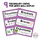 Algebra Assessment Pack - Order of Operations & Writing expressions