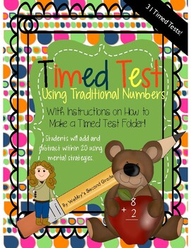 Common Core Aligned 31 Timed Tests Subtraction/Addition Facts
