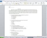 Common Core Aligned 3rd Grade Nonfiction  Reading Comprehe