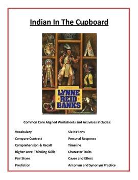 Indian in the Cupboard by Lynne Reid Banks Common Core Ali