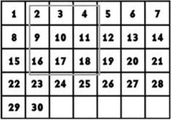 Common Core Aligned 4th Grade (2nd Quarter) Calendar Math
