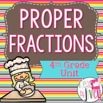 Fractions (Proper) - 4th Grade
