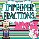 Fractions (Improper) - 4th Grade