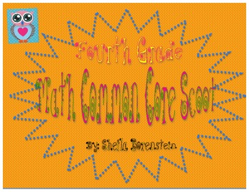 Common Core Aligned: 4th Grade Math Scoot (review)
