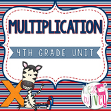 Multiplication - 4th Grade
