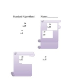 Common Core Aligned 5th grade multiplication worksheets