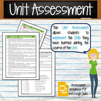 GRAMMAR & VOCABULARY PROGRAM - 9th Grade - Standards Based – Unit 6