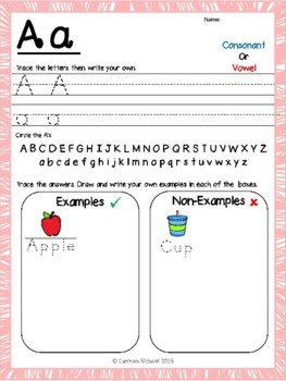 Alphabet and Phonics Book