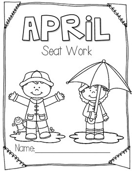 2nd Grade Common Core Aligned: April Morning Seat Work Packet
