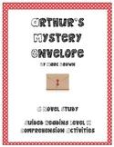 Common Core Aligned: Arthur's Mystery Envelope Comprehension