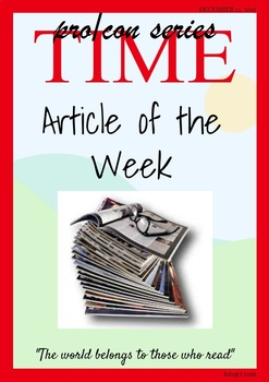 Common Core Aligned Articles of the Week--Argumentative Series