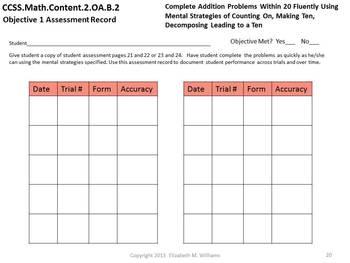 Common Core Aligned Assessment Bank Mathematics Grade 2