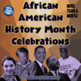 Black History Month / African American Interactive Notebook & Lapbook Activities