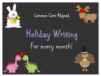 Common Core Aligned ELA Holiday Pack