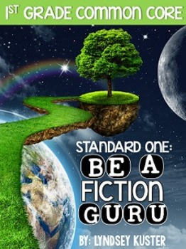 Common Core Aligned: Fiction Guru! {Standard 1: Ask and Answer Question}