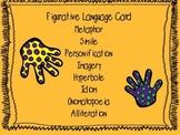 Common Core Aligned Figurative Language Card