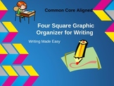 Revised! Common Core Aligned--Four Square Writing--Writing made easy