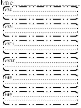 Common Core Aligned Graphic Organizers