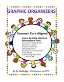 Common Core Aligned Graphic Organizers, Reading Literature