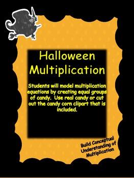 Common Core Aligned Halloween Multiplication