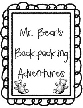 Mr. Bear Backpacking Journal