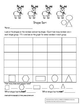 Common Core Aligned Holiday Themed Math Learning Centers