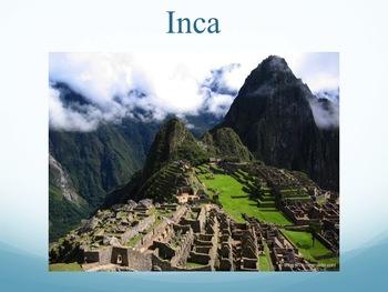 Common Core Aligned Incas, Aztecs, Maya